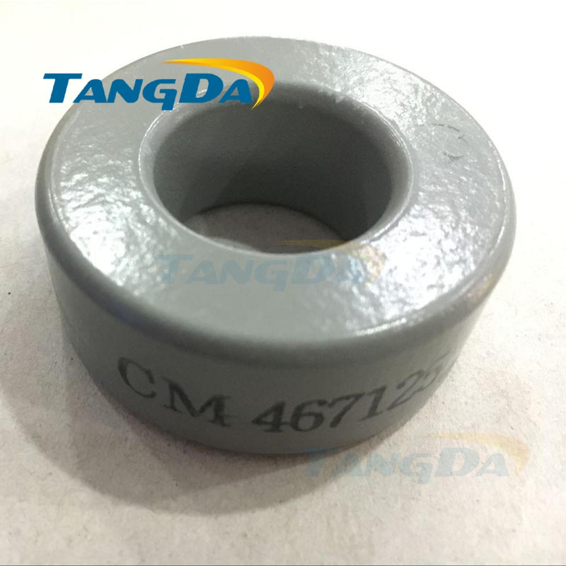Tangda MPP Cores CM467125 47*24*18 mm SMPS RFI Molypermalloy Powder 125u tangda iron nickel cores 50 50%ni ch234060 smps rfi hi flux high flux core 23 4 14 4 8 9 60u