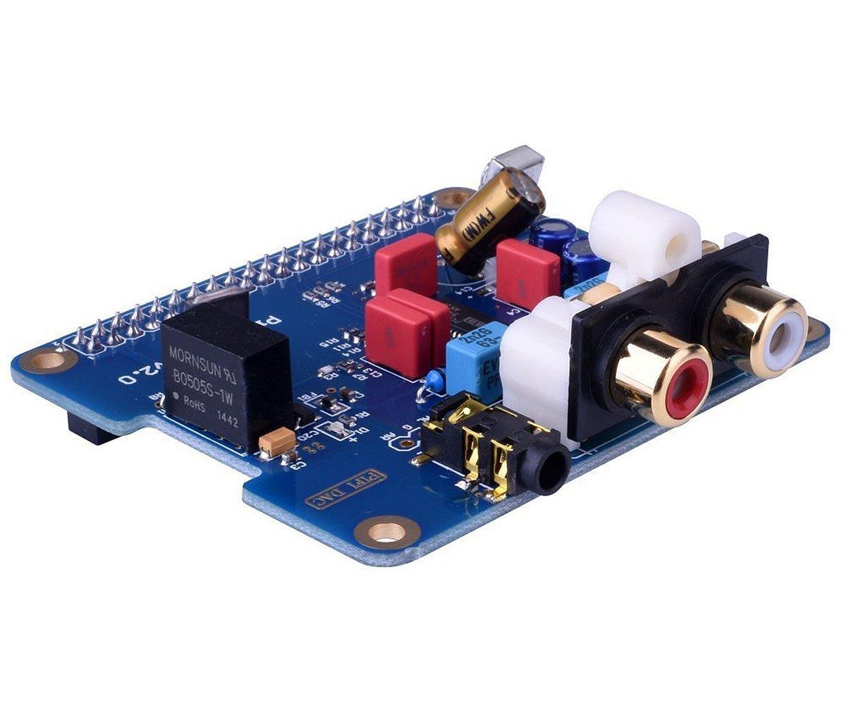 HIFI Digi DAC+ HIFI DAC PCM5122 Sound Card Module I2S Port for Raspberry Pi 3 2 Model B B+ Audio Card Pinboard V2.0 Board