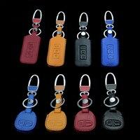 Car styling Car Keychain caso della copertura chiave Per MITSUBISHI ASX Outlander Lancer Evolution Pajero Eclipse Grandis FORTIS Zinger