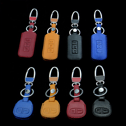 Car styling Car Keychain key cover case For MITSUBISHI ASX Outlander Lancer Evolution Pajero Eclipse Grandis FORTIS Zinger