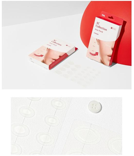 COSRX AC Collection Acne Patch 1pack (26pcs) Acne Treatment Face Mask Pimple Scar Remover Facial Care Stealth Acne Patch 3