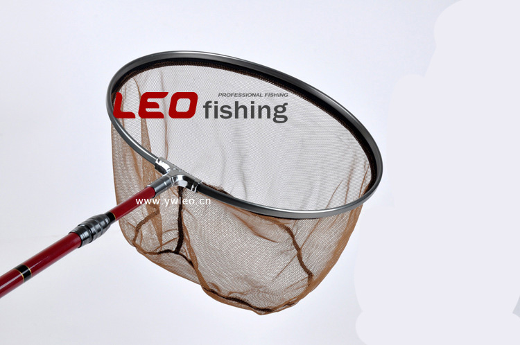 Free Shipping New Arrival fishing nets Aluminum Alloy brailer head 40cm aluminum mesh copy head 8mm screw fishing gear