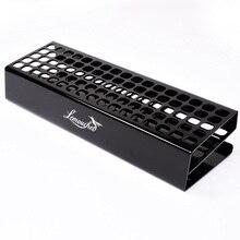 85 Slots Premium Marker Halter Schreibtisch Stehen Acryl Organizer Lagerung Rack Etwas Abgeschrägte Design für Touchnew Kunst Marker Stift