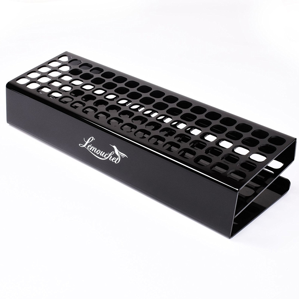 85 Slots Premium Marker Holder Desk Stand Acrylic Organizer Storage Rack Slightly Slanted Design For Touchnew Art Markers Pen