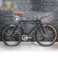Retro Steel frame sliver  Fixed Gear bike Track Single speed Bicycle 48cm 52cm 700C fixie vintage DIY