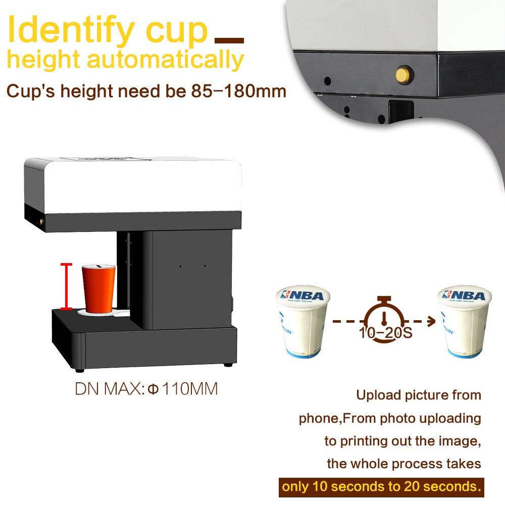 Kunst Kaffee Getränke Kaffee Drucker Drucker kuchen Druck maschine ...