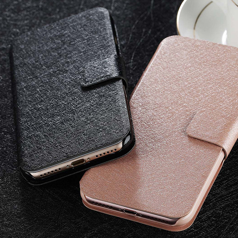 General Mobile GM5 Plus Case Luxury Flip PU Leather Phone Cases for General Mobile GM6 GM8 GO GM9 PRO Phone Stand Bags Case(China)