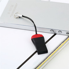 1шт мини-USB кард-ридер USB 2.0 TF для микро-SD t-вспышки M2 карт памяти новый
