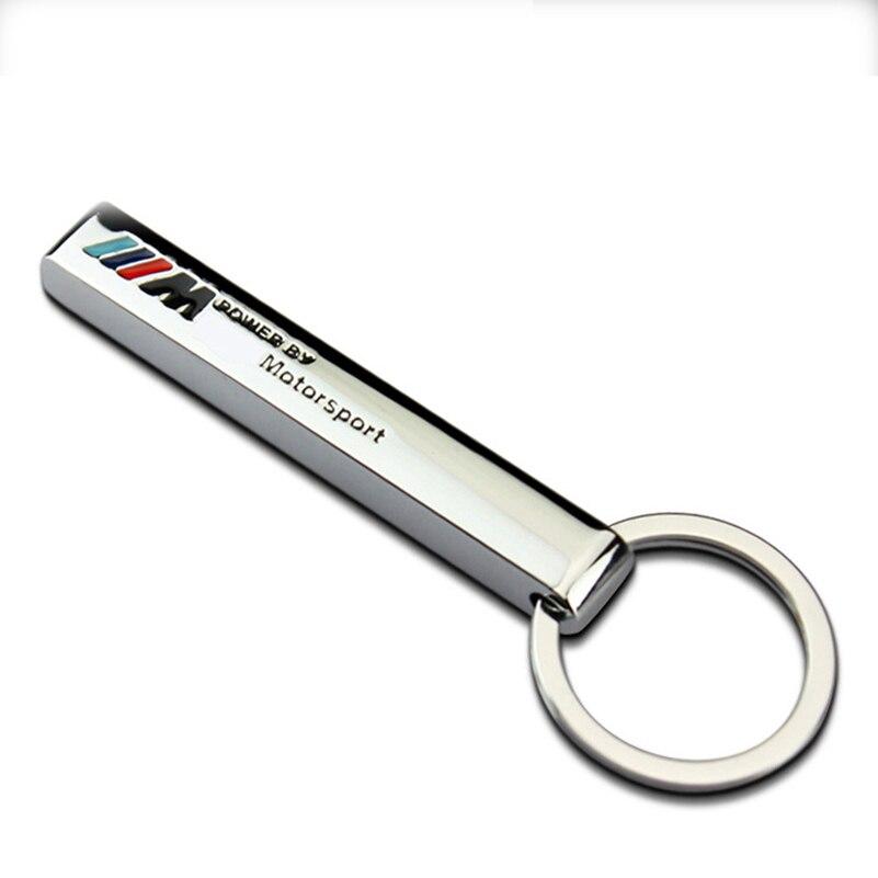 20pc Car Logo Keychain Keyring Key Chain Key Ring Holder For BMW M M3 M5 Power Performance E46 E39 E36 X1 X3 X5 X6 Z car Styling 1pc car sticker for bmw motorcycle car styling stall paste m logo interior gear head stickers fit for bmw m3 m5 m6 x1 x3 x5 x6