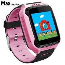 Купить онлайн Maxinrytec оригинальный q528 Y21 Сенсорный экран Дети GPS часы с Камера Освещение Смарт-часы сна Мониторы GPS sos детские часы