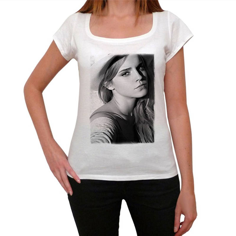 Tee Shirt Hipster Harajuku Brand Clothing T Shirt Emma Watson Short Sleeve Printed O Neck Tee For Women in T Shirts from Women 39 s Clothing