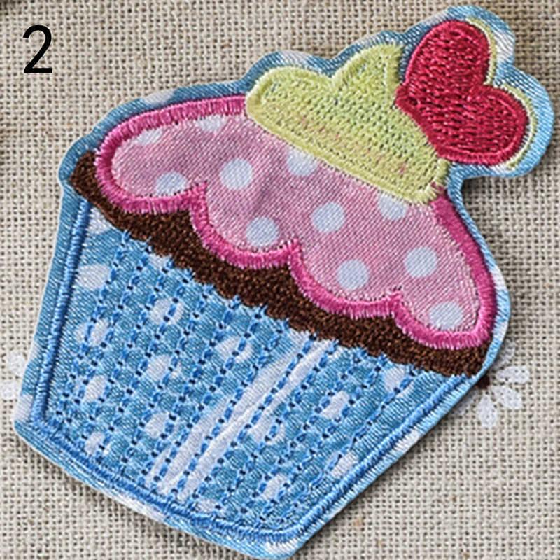 1 шт. сливочное железо со льдом на заплатках para la ropa для аппликация на одежду нашивки детские аксессуары Детские швейные принадлежности