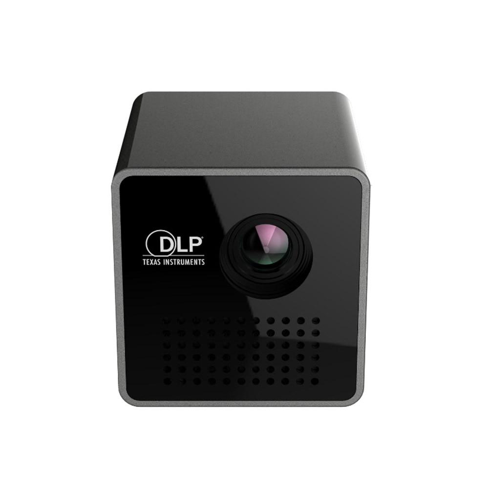 P1 Smart Home Mini Mobile Wireless Portable Projector Pocket Movie Home Video Digital Theater DLP Projector Chargable Projector