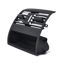 Front Row Wind Left Center Right Air Condition Vent Grill Outlet Panel Center Air conditioning Air Outlet Vent Grille Cover For