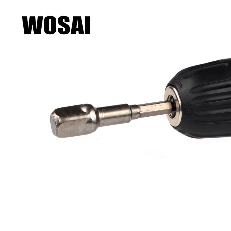 WOSAI Set di adattatori per prese in acciaio al cromo vanadio da 3 - Accessori per elettroutensili - Fotografia 4
