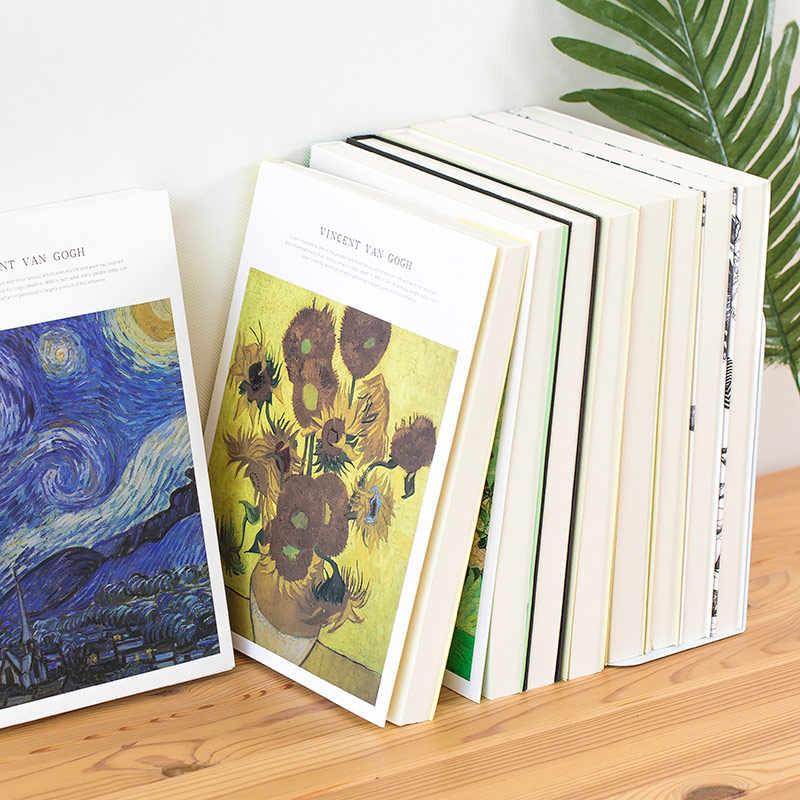 1 pçs engrossar esboço de papel em branco sketchbook livro de imagens pintados à mão pintura de arte especial papel graffiti pintura em aquarela