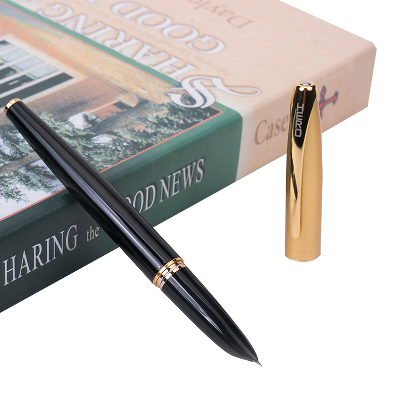 Classic Series Hero 1000 Smooth Metal Standard Fountain Pen 0 5mm Nib Finance Special Pens Free