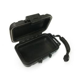 Fone de ouvido à prova dwaterproof água caso gota resistência caixa protetora caso portátil iem in-ear monitor caixa