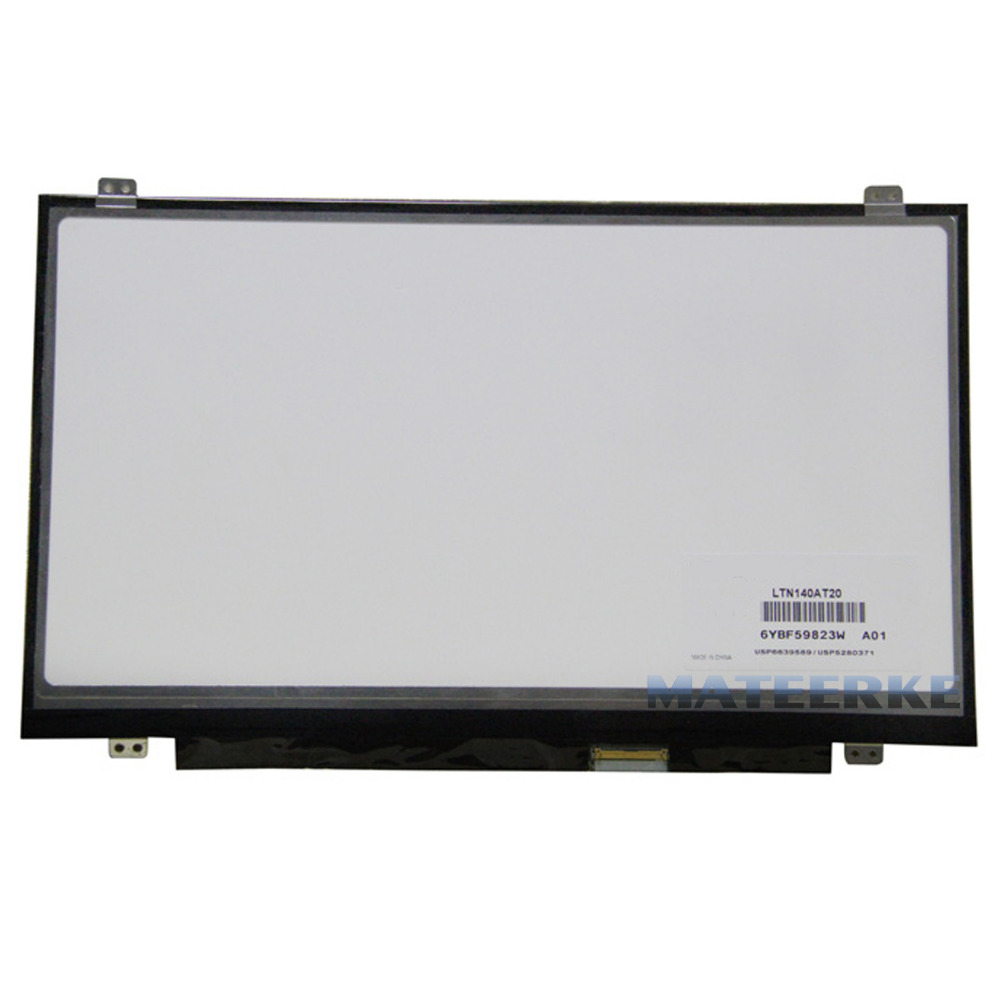 LAPTOP LCD SCREEN FOR BOEHYDIS HB140WX1-300 14.0 WXGA HD 14 0 lcd laptop screen boe hb140wx1 601 hb140wx1 led panel for new 14 wxga hd display matte