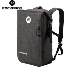 ROCKBROS Waterproof Bike Bag Large Capacity 24L Bicycle Outdoor Cycling Travel Hiking Climbing Backpack