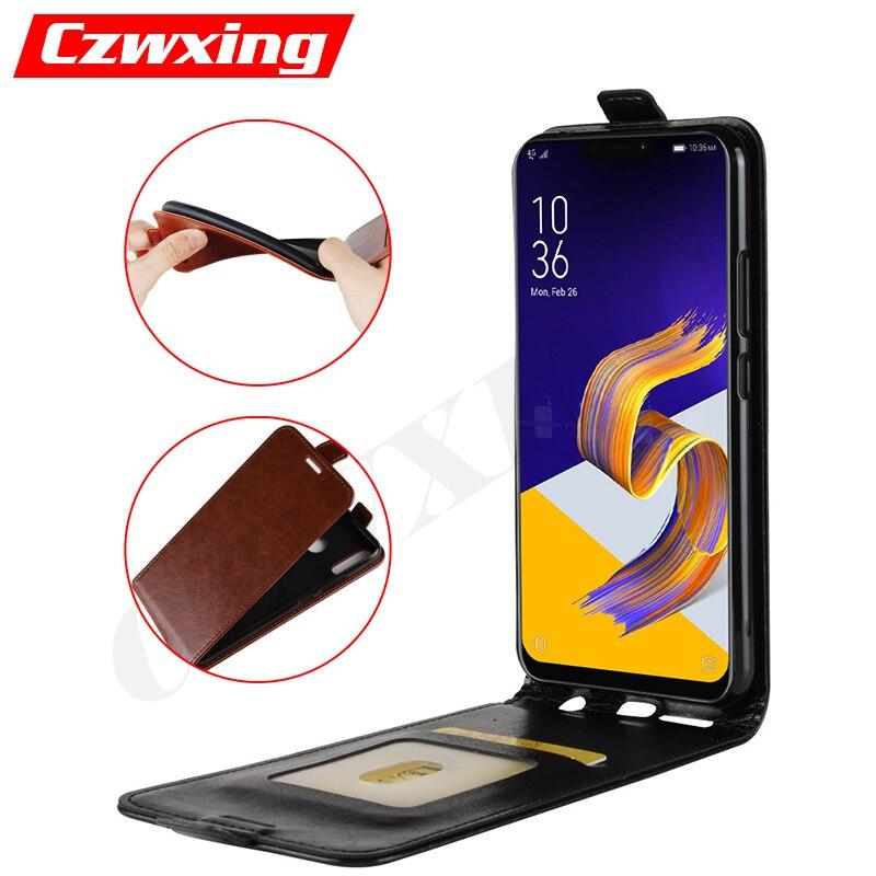 Asus ZenFone 5 ZE620KL Case Flip Cover PU Leather Phone Case For Asus ZenFone 5 2018 ZE620KL ZE ZE620 620 620KL KL X00QD Case