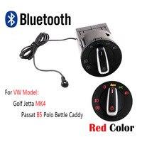 Red Bluetooth AUTO Headlight HeadLamp Switch Light Sensor Module Upgrade For VW Golf MK4 Jetta 4 Passat B5 Polo Bettle