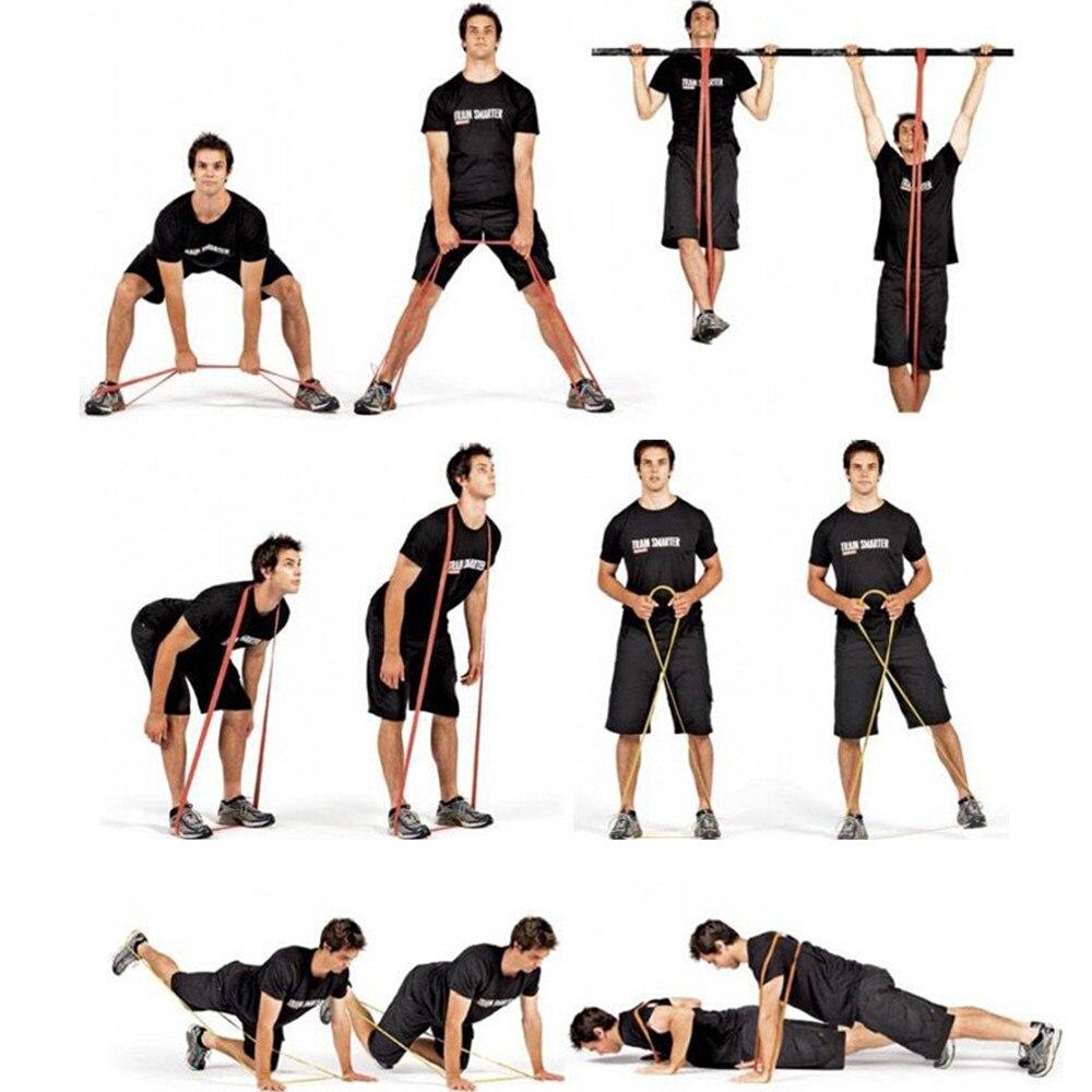 Resistance Band Unterstützte Pull Up Bands Loop Straps für - Fitness und Bodybuilding - Foto 5