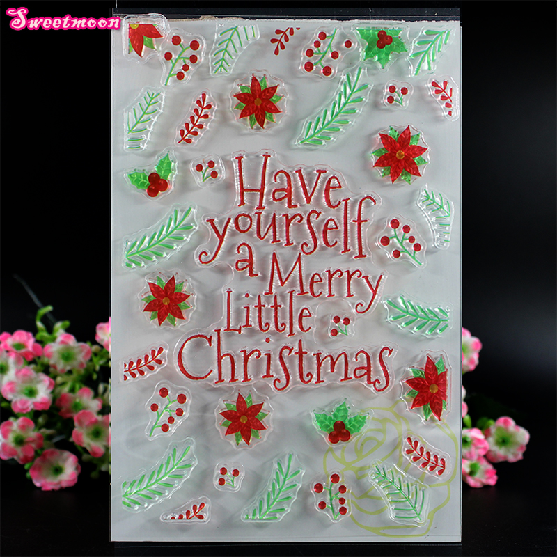 have Yourself a merry little christmas Scrapbook Clear ...