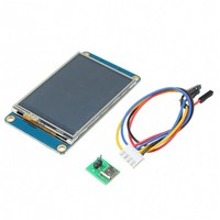 New English Version NX3224T024 2.4 TFT 320 x 240 Touch Screen UART HMI Smart LCD Module Display for Arduino TFT