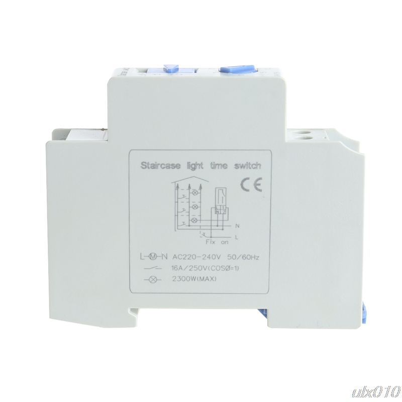 Stair Light Delay Timer Controller Relay Normally Open Contact Adjustable S08 Drop ship normally open single phase solid state relay ssr mgr 1 d48120 120a control dc ac 24 480v