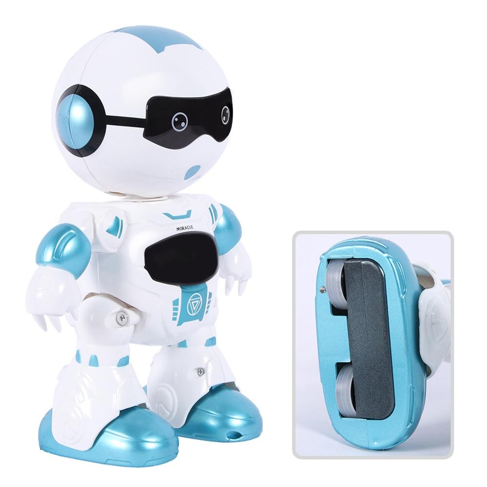 Robot télécommandé jouets intelligents agent de feu de glace lumière électrique signature de musique et danse pour les garçons et les filles