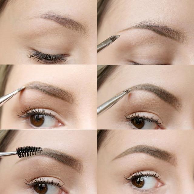 Online Shop Professional Eyebrow Enhancer Make Up Eyes Brown Coffee