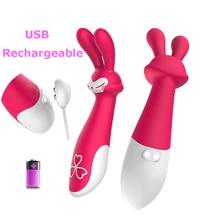 10 скорость кролик вибратор фаллоимитатор вибрирует клитор g-spot стимуляции секс-игрушки для женщин женский мастурбатор мило fox формы продукт секса