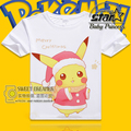 Kids Cartoon t shirt Pokemon Pikachu Squirtle Charmander Gengar T-shirt Boys Girls Casual Summer Cotton Short Sleeves Tees