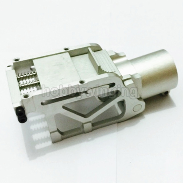 ФОТО CNC Aluminium 25mm Tube Arm Folding Connector for Plant Protection UAV Multicopter