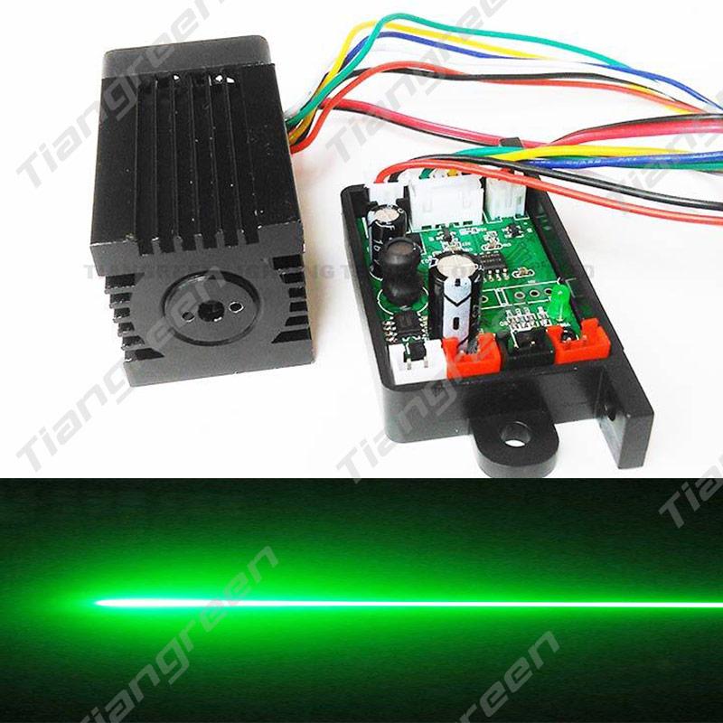 Tgleiser focalisable 532nm 200 mW module laser vert 12 V RGB accessoire de lumière de scène TTL mini machine laser lunettes gratuites