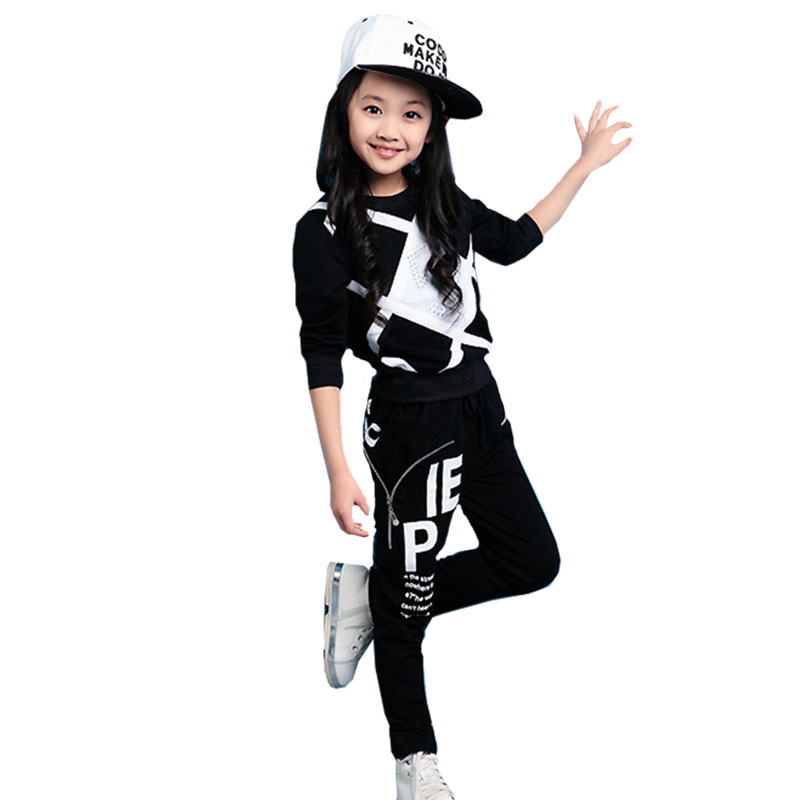 Baby girl clothes boy sportswear suit autumn and winter season loose thick warm warm quality clothing 5 12 years Children 39 s wear in Clothing Sets from Mother amp Kids