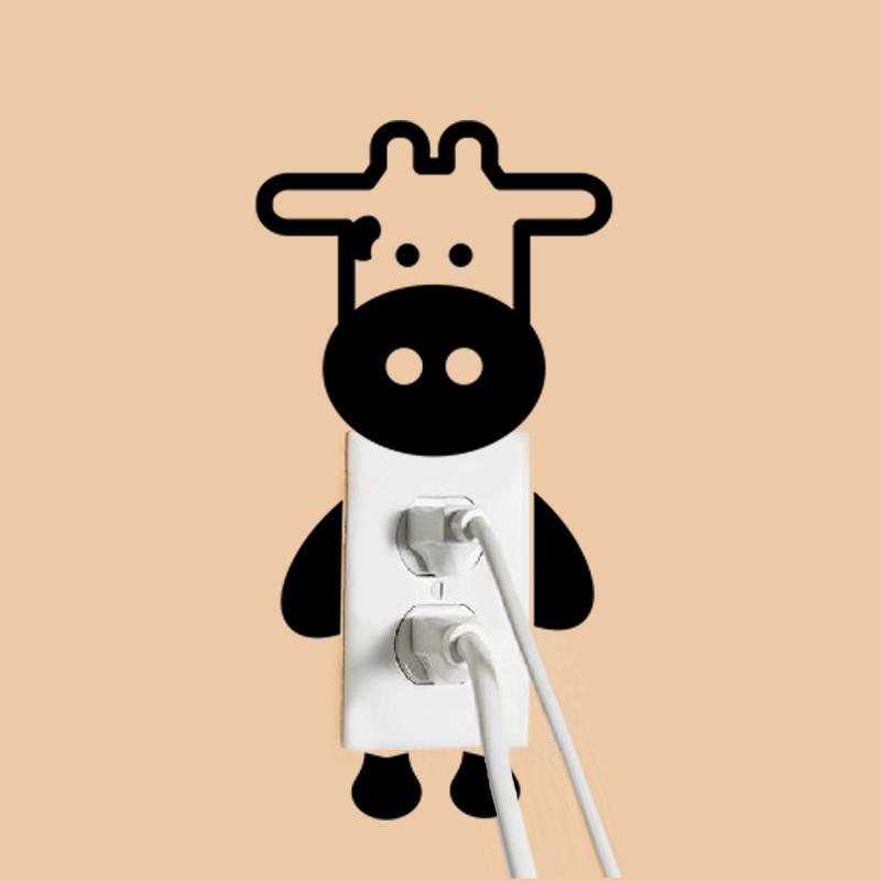 DIY Funny Cute Black Cat Dog Rat Mouse Animls Switch Decal Wall Stickers DIY Funny Cute Black Cat Dog Rat Mouse Animls Switch Decal Wall Stickers HTB1 px5JVXXXXbcXVXXq6xXFXXX1