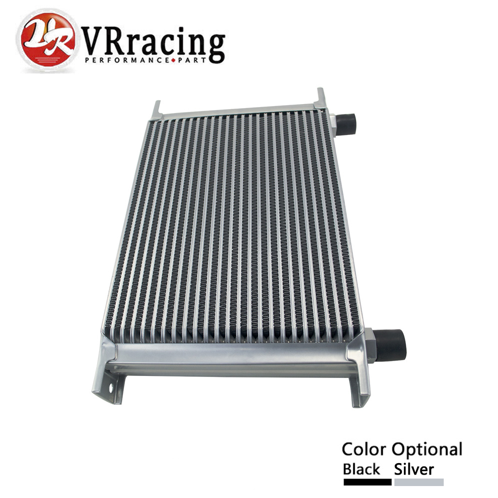 VR RACING - 25 ROW AN-10AN UNIVERSAL ENGINE TRANSMISSION OIL COOLER VR7025 vr racing 16 row an 10an universal engine transmission oil cooler vr7016 2