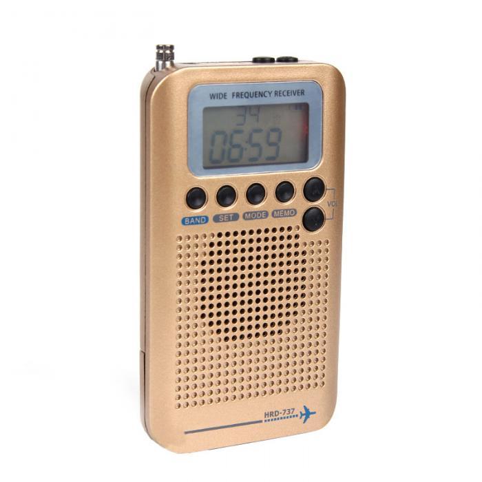 Novo multifuncional rádio banda completa fm am