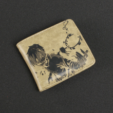 Anime Credit Card Holder Leather Wallet Purse