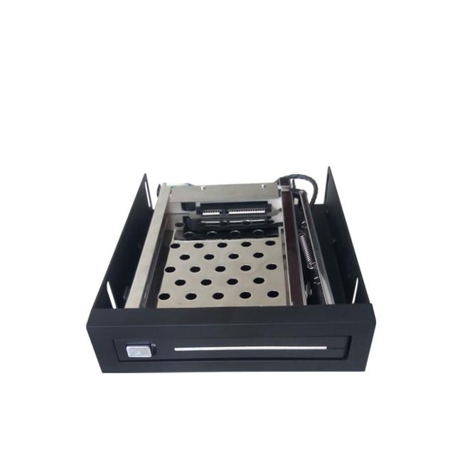 """20 pcs caixa 2.5 """"single baía hdd caso SATA HDD Interno de plástico"""