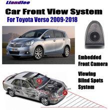 Автомобильная камера переднего вида для toyota verso 2009 2018