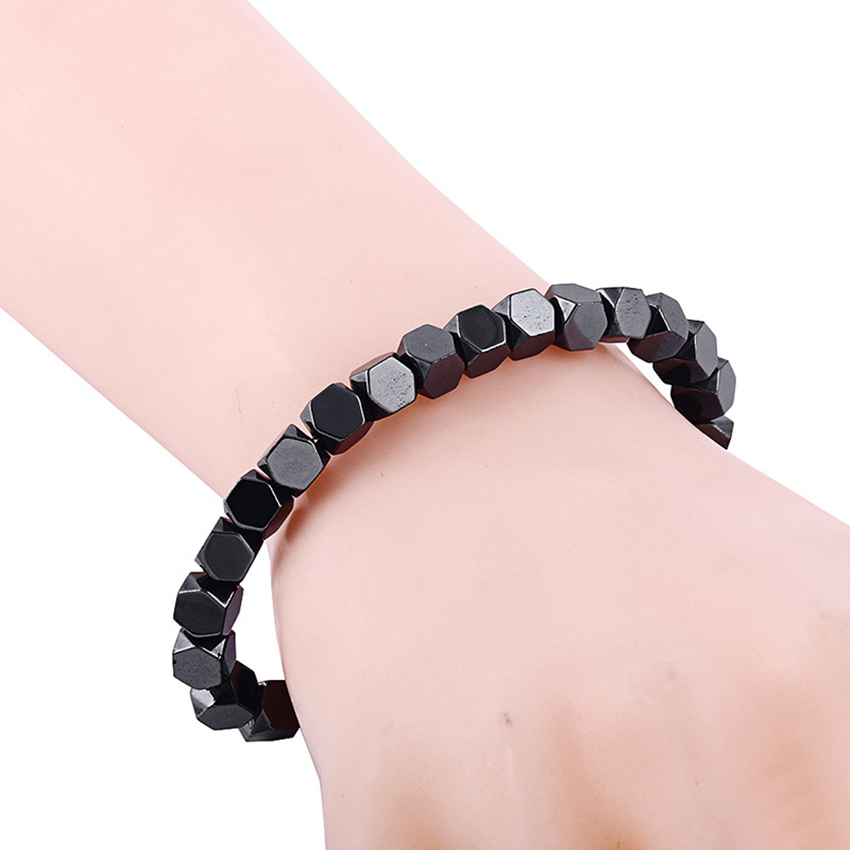 Women Keep Fit Bracelet For Slimming Men Magnet Health Reduce Weight Loss Bracelet For Slimming Stone Magnetic Bracelet Femme in Bracelets Bangles from Jewelry Accessories
