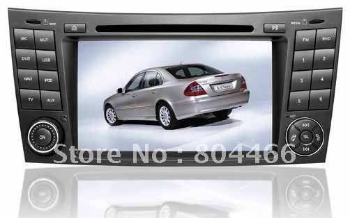 Wholesales In-Dash Special Car DVD Player for BENZ CLS/E /G with GPS TV Touch-Screen Radio Bluetooth MP4 IPOD USB IPOD Free map