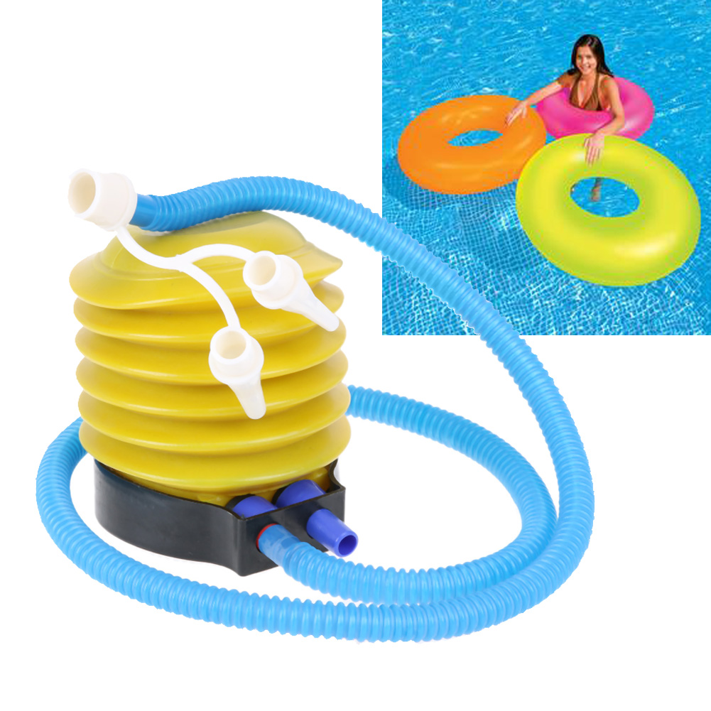 Foot Air Pump For Balloon Kid Swimming Pool Inflate Portable Inflator Equipment Party: Wedding Ring Pool Toy At Reisefeber.org