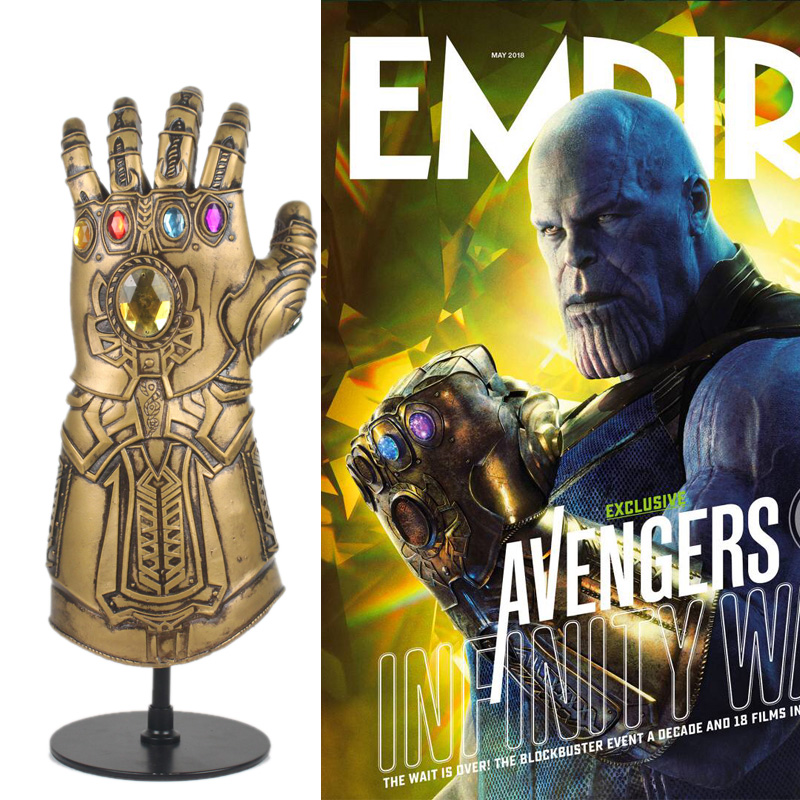 Infinity Gauntlet Cosplay Thanos Cosplay Gloves Props Latex Collection Level Avengers Infinity War