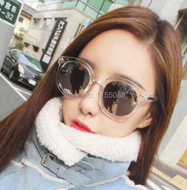 50pcs/lot Fashion cool multicolour Mirror glasses sunglasses women Vintage sunglasses lady Designer sunglasses