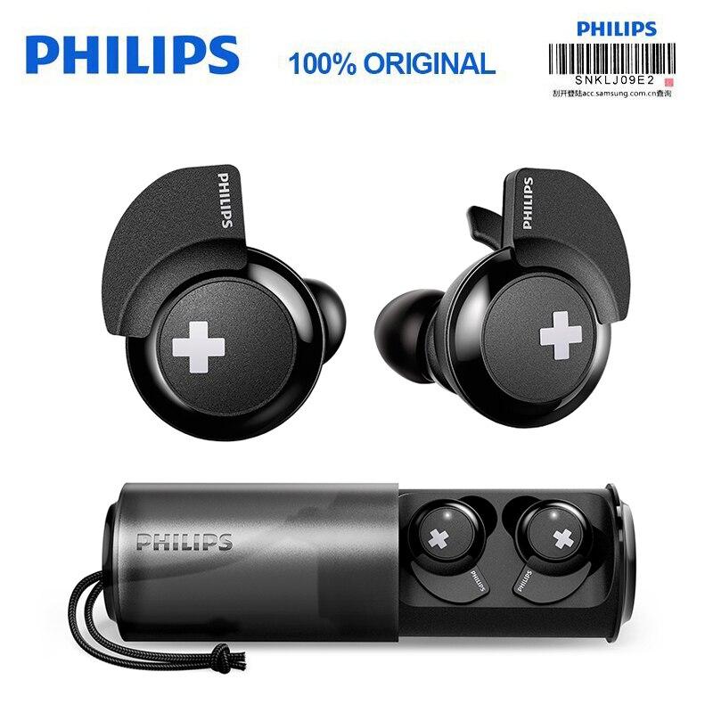 Philips Auricolare Senza Fili SHB4385 con Bluetooth 4.1 polimeri di Litio di Controllo del Volume per Il Iphone X Galaxy Note 8 Ufficiale di Prova