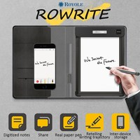 Royole 10 pulgadas 2048 Nivel de presión digital dibujo Tablets papel de escritura nube App exhibición síncrona con sensibilidad pluma